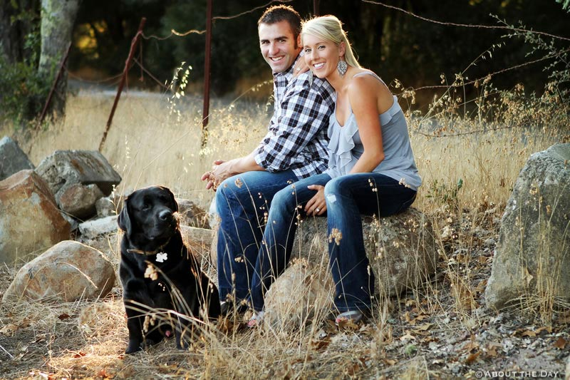 Engagement session in Santa Rosa, California