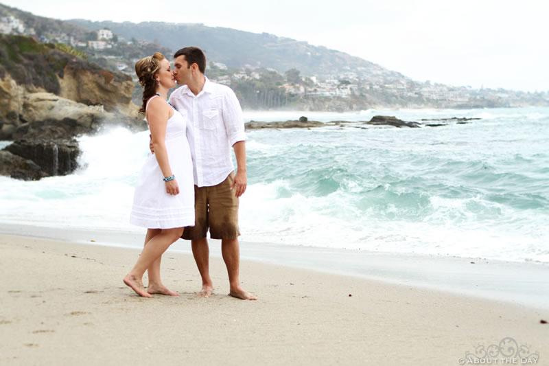 Engagement shoot in Dana Point, California