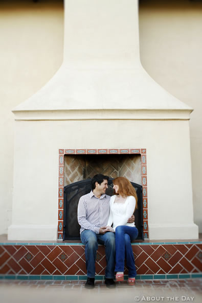 Engagement session in Newport Beach, California