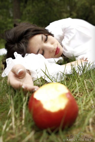 Snow White shoot in Olympia, Washington
