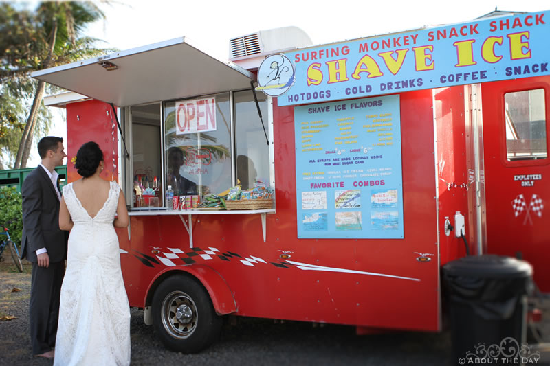 Wedding in Princeville, Hawaii