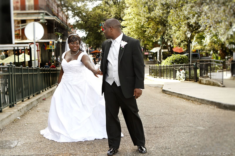 Wedding in New Orleans, Louisiana