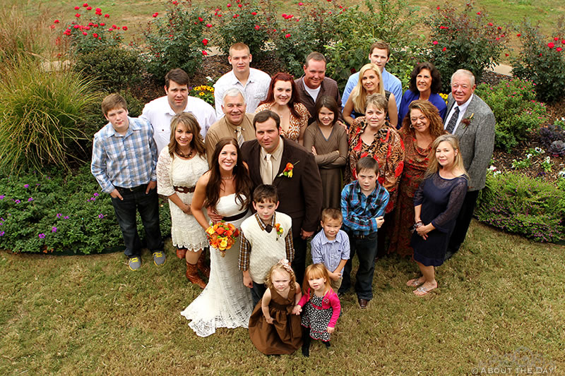 Wedding in Edgewater, Arkansas