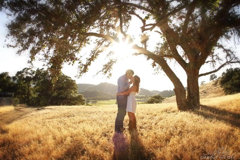 Engagement Session in Calistoga, California