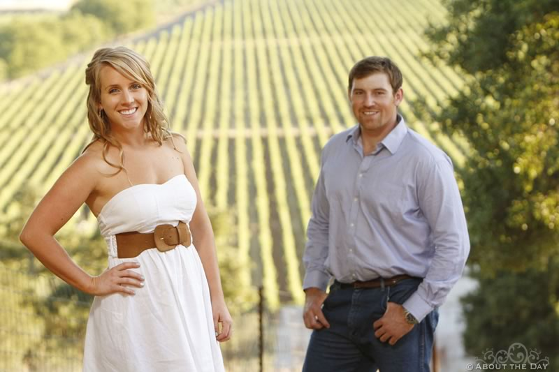 Engagement Session in Calistoga, California