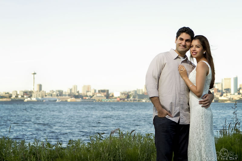 Engagement session in Seattle, Washington