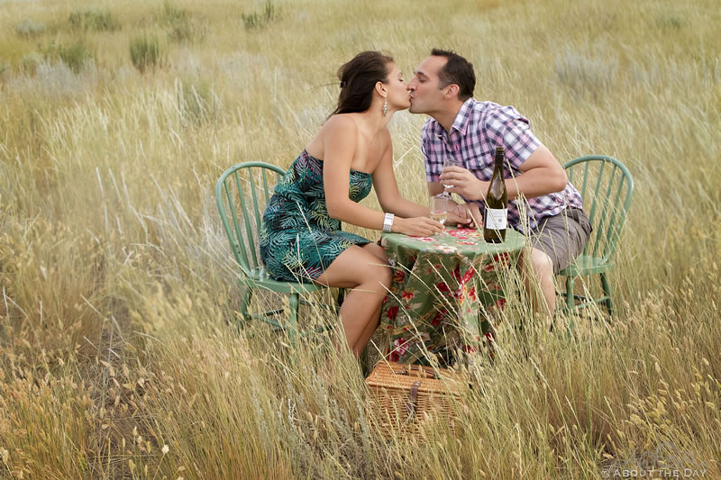 Engagement session in Kamloops, British Columbia
