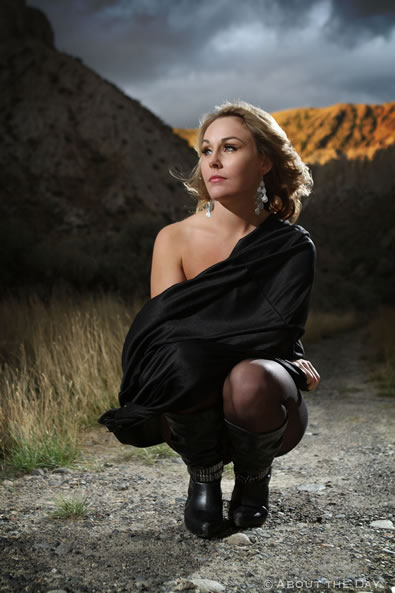 Modeling session in Kamloops, British Columbia