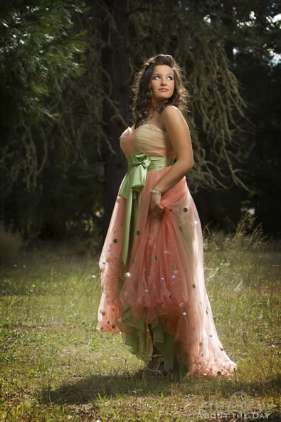 Photo session with Haleigh in Azalea, Oregon