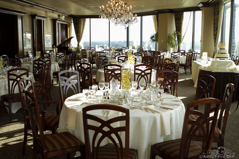 Wedding at the Harbor Club in Bellevue, Washington