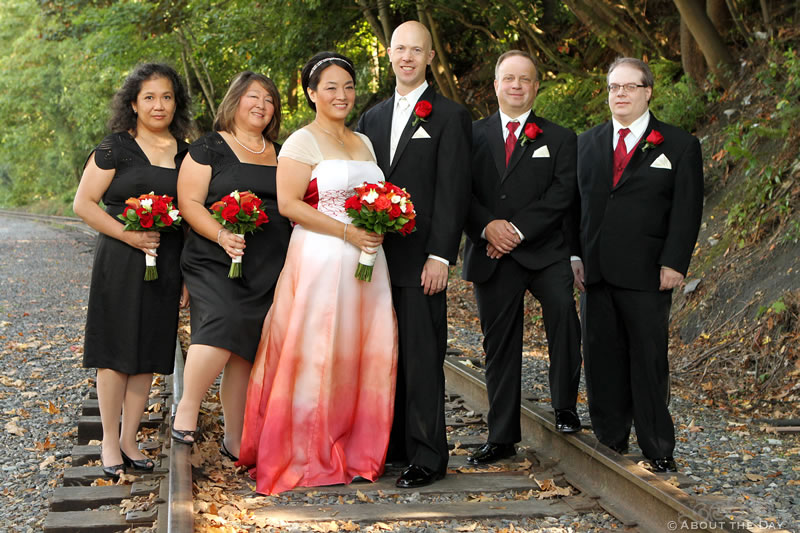Wedding at The Canal in Ballard, Washington