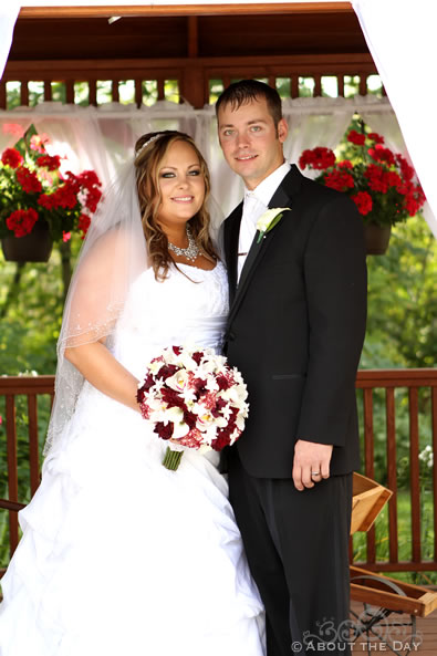 Wedding at Flowers of the Field in Mosinee, Wisconsin