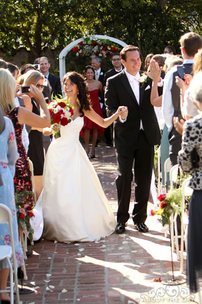 Wedding at The Old Whaling Station in Monterey, California