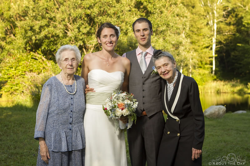 Wedding at the Blueberry Hill Inn in Goshen, Vermont