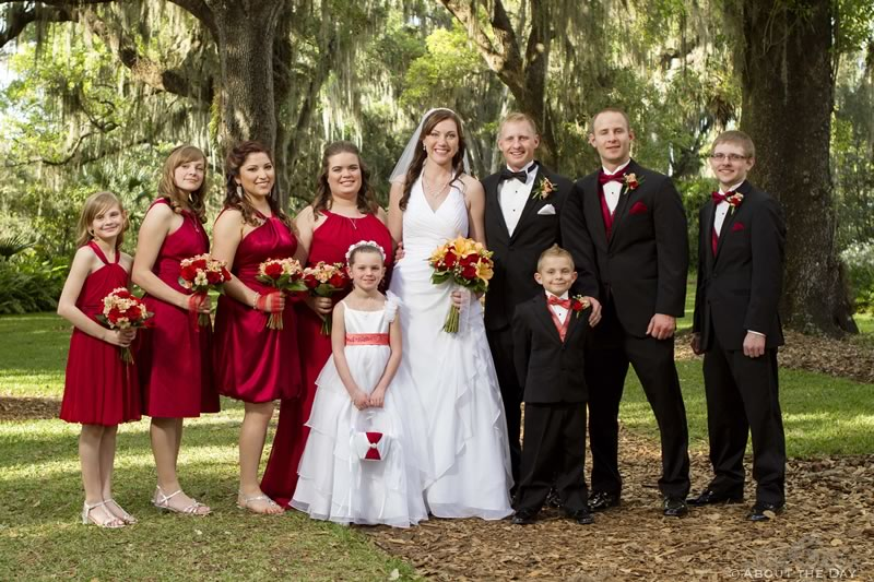 Wedding at Bok Tower in Lake Wales, Florida