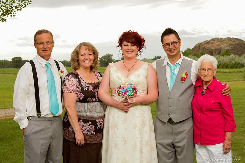 Wedding at the 7N Ranch Resort in in Idaho Fall, Idaho