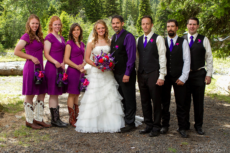 Wedding at Wallowa Lake in Joseph, Oregon