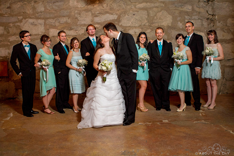 Wedding at Chateau Rive in Spokane, Washington