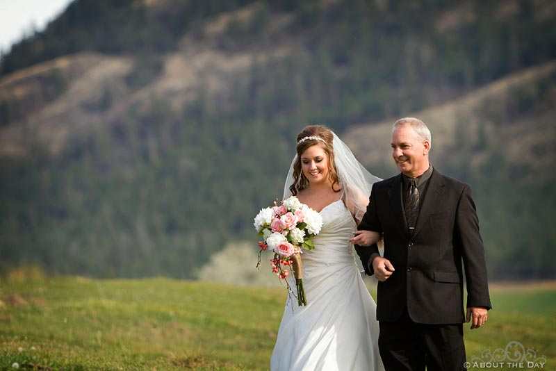 Wedding in Kamloops, British Columbia