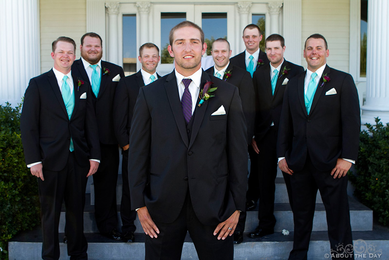 Wedding at the Moore Mansion in Pasco, Washington