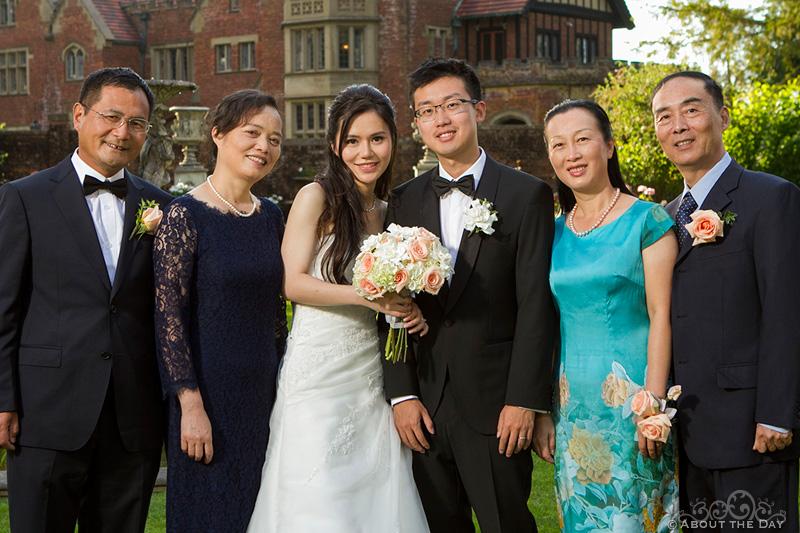 Wedding at Thornewood Castle in Lakewood Washington