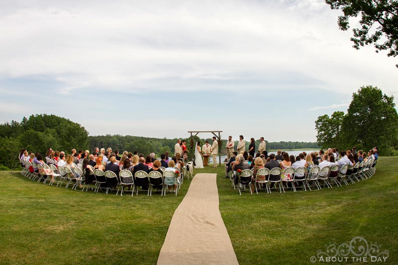 Wedding in Rothbury, Michigan