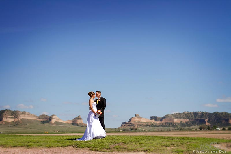 Wedding in Scotts Bluff, Nebraska