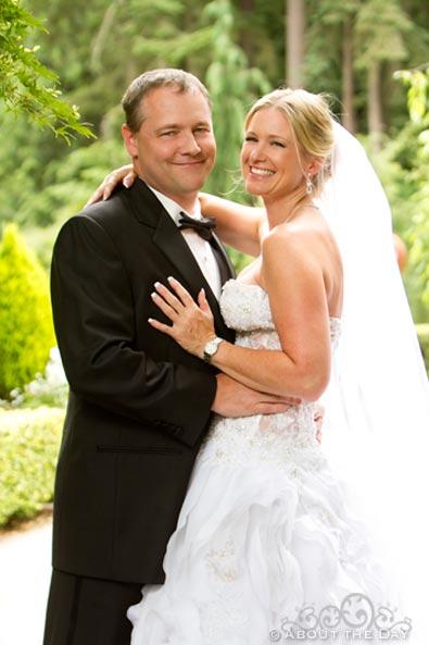 Wedding at Rock Creek Gardens in Puyallup, Washington