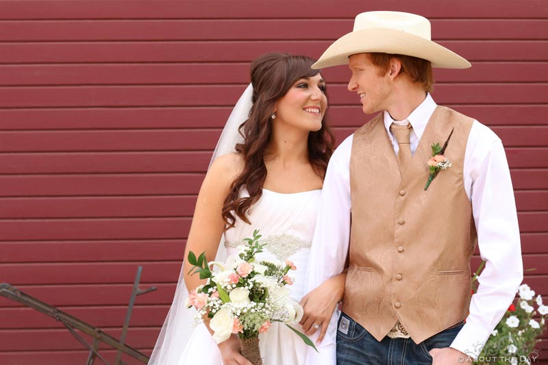 Wedding at Frazier Farmstead Museum in Milton-Freewater, Oregon