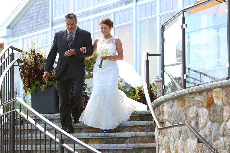Wedding at Wequassett Resort & Country Club in Chatham, Massachusetts