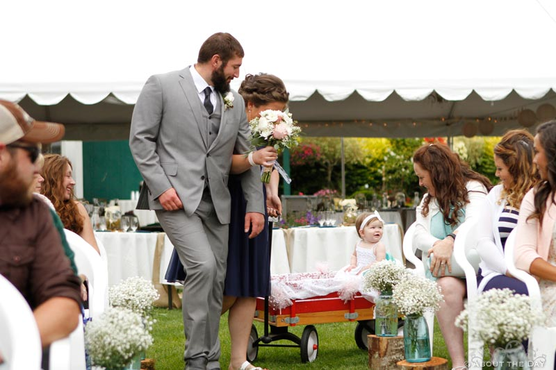 Wedding in Enumclaw, Washington