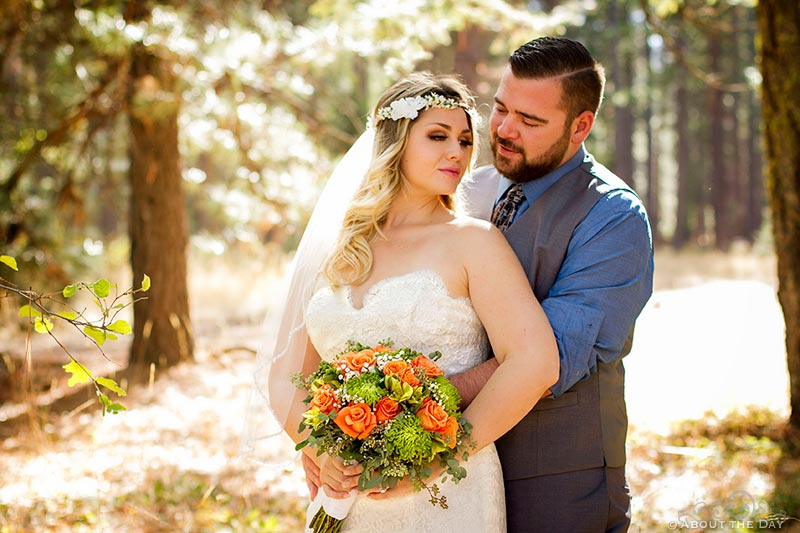 Wedding at Mt.Shasta, California