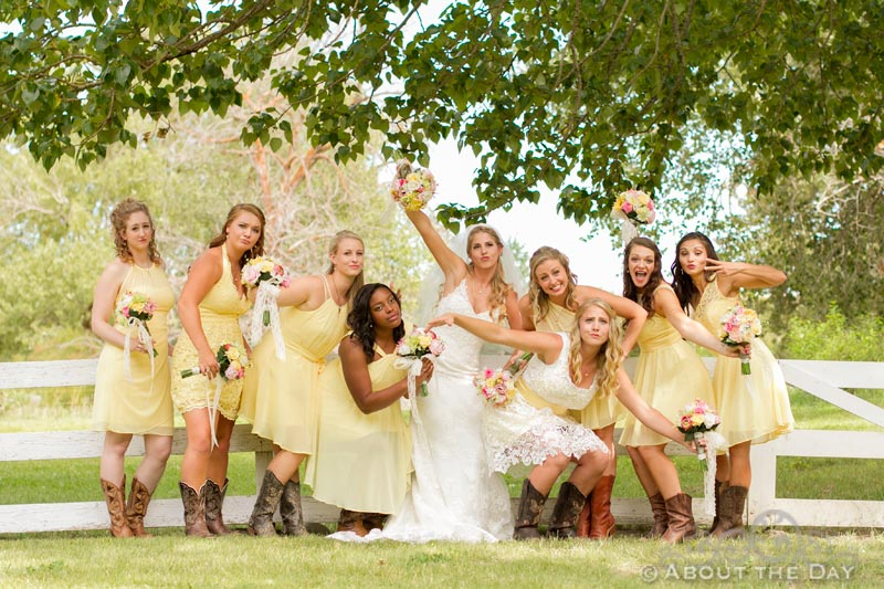Wedding in Ellensburg, Washington
