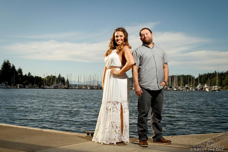 Engagement session in Olympia, Washington