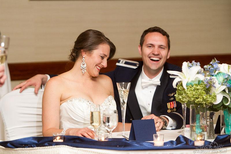 Wedding at the Air Force Academy in Colorado Springs, Colorado