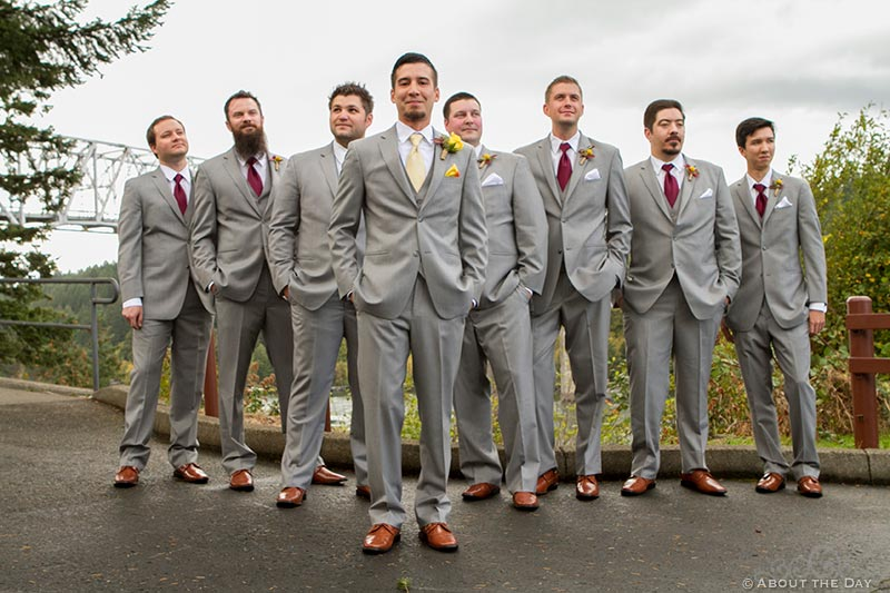 Groom and his men at Sternwheeler Columbia Gorge & Marine Park