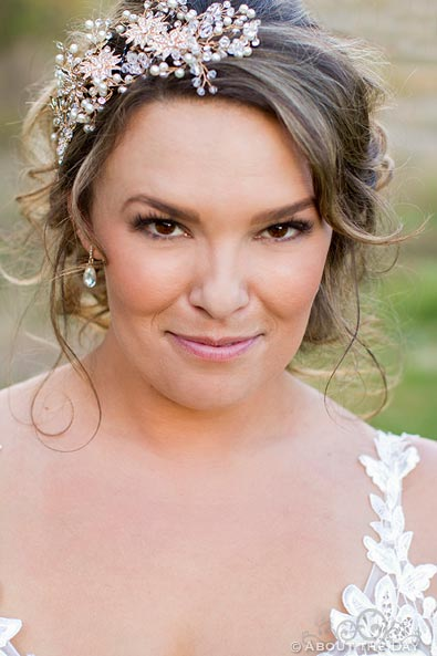 Lovely Bride's close up