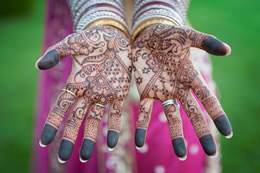 Lovely henna hands