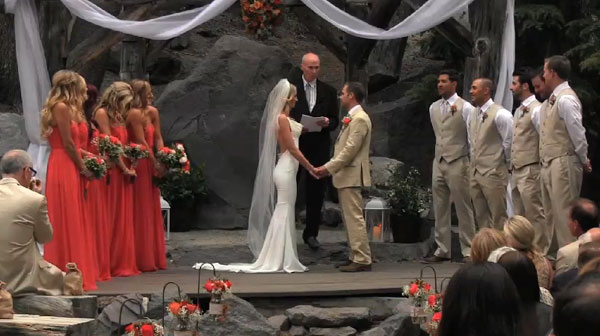Wedding at Mammoth Mountain, California