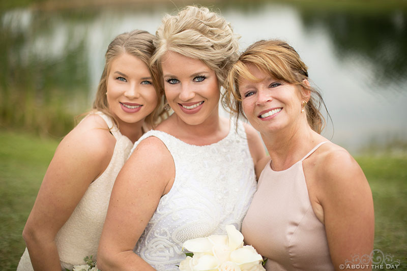 Heather and her lovely mother and sister