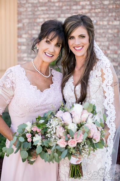 Gorgeous Bride and her mother