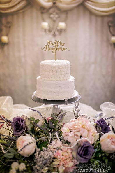 Wedding Cake at Wedding Cake at Haythorn Land & Cattle Co