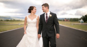 Wedding at the Evergreen Aviation & Space Museum