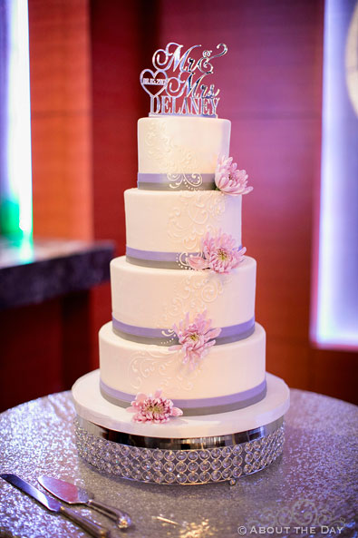 Steven and Graces wedding cake