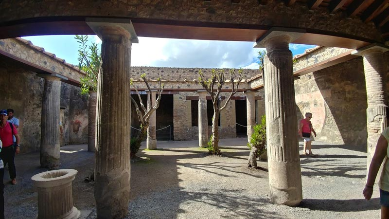 One of the nicer homes in Pompei