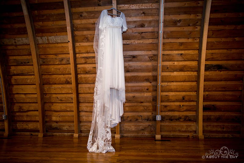 HannahShae's wedding dress