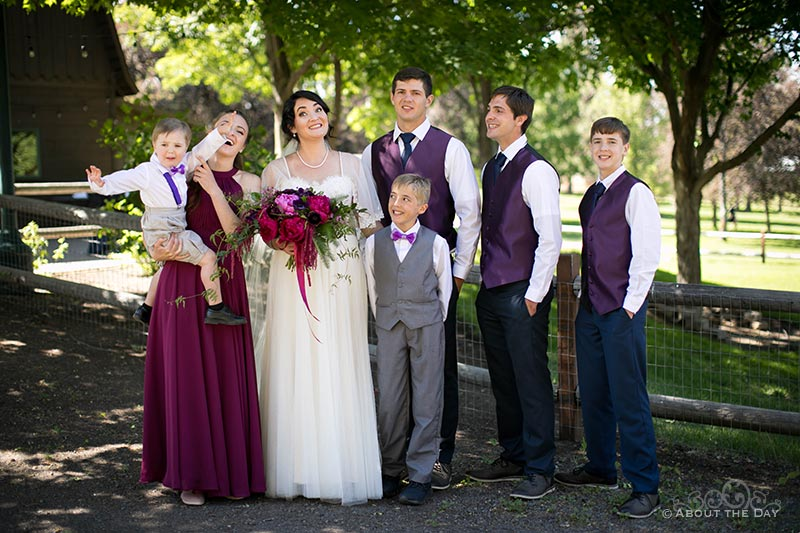 HannahShae's family before the wedding